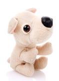 Dzieci bawją się, Miękki misia pluszowego pies Obrazy Royalty Free