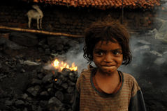 dzieci biedni Fotografia Stock