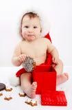 dzieci boże narodzenia Obraz Royalty Free