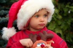 dzieci boże narodzenie Fotografia Royalty Free