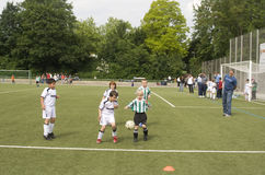 Dzieci BSC SChwalbach bawić się Zdjęcie Royalty Free