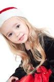 dzieci christams ubierali dziewczyny dziewczyna zdjęcie stock