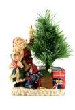 dzieci Claus Santa statua Obraz Royalty Free