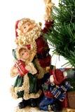 dzieci Claus Santa statua Zdjęcie Stock