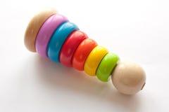 dzieci coloured wielo- ostrosłup s Fotografia Stock