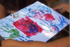Dziecięcy rysunek Zdjęcie Royalty Free