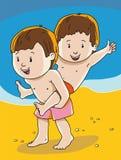 Dziecięcy sporty ilustracja wektor