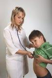 dzieci diagnozy serce Zdjęcia Royalty Free