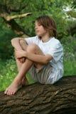 dzieci drzewni Zdjęcie Royalty Free