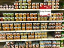 Dzieci foods Zdjęcie Stock