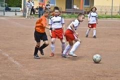 Dzieci futbolowi Zdjęcie Stock