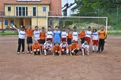 Dzieci futbolowi Zdjęcia Royalty Free