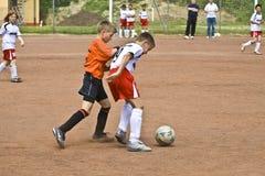 Dzieci futbolowi Obraz Royalty Free
