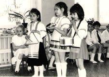 dzieci grupują instrumentów musicalu sztuka Obrazy Stock