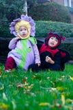 dzieci Halloween Zdjęcia Royalty Free