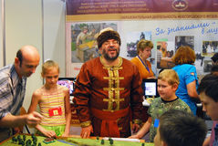 Dzieci i dorosłych sztuka wpólnie Obraz Royalty Free