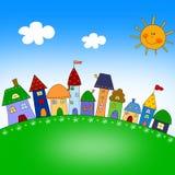 dzieci ilustracyjni Obraz Royalty Free