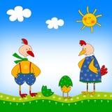 dzieci ilustracyjni Zdjęcia Royalty Free