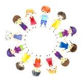 Dzieci ilustracyjni Zdjęcie Stock
