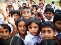 dzieci indyjscy zdjęcia stock
