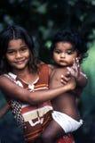 dzieci indyjscy Obraz Royalty Free