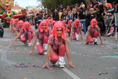 Dzieci. Karnawał w Cypr. Zdjęcie Royalty Free