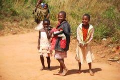 Dzieci Kilolo góra w Tanzania, Afryka - Fotografia Royalty Free