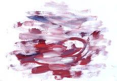 dzieci koloru rysunkowa farb s woda Fotografia Stock