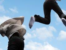 dzieci latać Zdjęcia Royalty Free