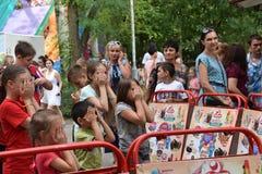 Dzieci lubią bawić się różne gry Zdjęcie Royalty Free