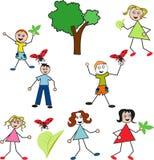 dzieci miłości natura który Obraz Stock