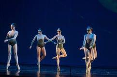 Dzieci noc balet Zdjęcie Royalty Free