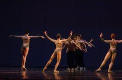 Dzieci noc balet Fotografia Royalty Free