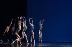 Dzieci noc balet Zdjęcia Stock