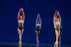 Dzieci noc balet Obrazy Royalty Free