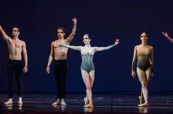 Dzieci noc balet Obraz Royalty Free