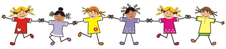 dzieci obrysowywają tana projekta sylwetkę ilustracja wektor