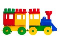 dzieci odizolowywali s pociąg Obrazy Royalty Free