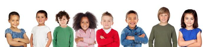 Dzieci patrzeje kamerę fotografia royalty free
