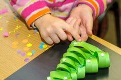 Dzieci przy lekcją sztuki piękna Obraz Royalty Free