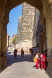 Dzieci przy Mehrangarh fortem Fotografia Stock