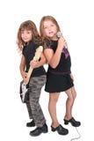 dzieci rockstar Fotografia Royalty Free