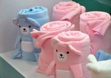 dzieci rolki ręcznik Obrazy Royalty Free