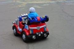 Dzieci samochodowi Zdjęcie Royalty Free