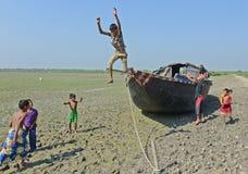 dzieci się bawią Fotografia Stock