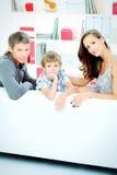 Dzieciństwo rodzic Zdjęcie Stock