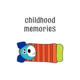 Dzieciństwo wspominki 2 obraz royalty free