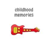 Dzieciństwo wspominki 3 Obraz Royalty Free