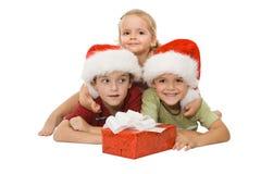 dzieci szczęśliwi Zdjęcie Royalty Free