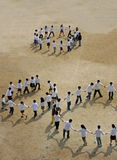 dzieci tańczyć Zdjęcia Royalty Free